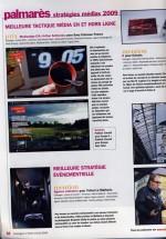 Grand Prix Stratégies Médias 2009 : «Mention» pour Le Mathurin