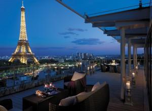 La terrasse Shangri La