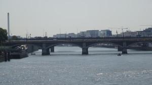 Le pont National vu du pont de Tolbiac