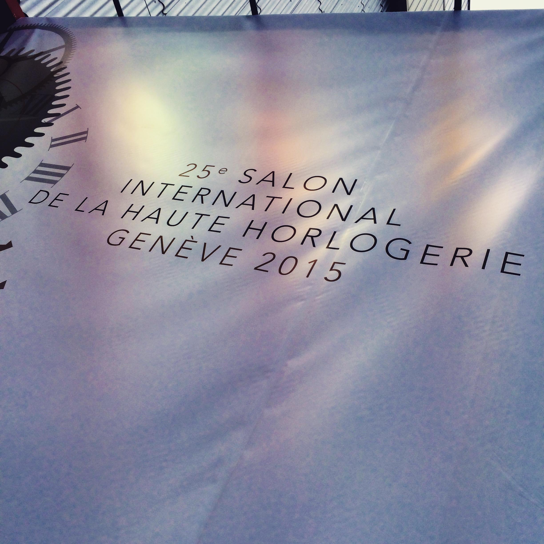Le sihh salon international de la haute horlogerie le - Salon international de la haute horlogerie ...