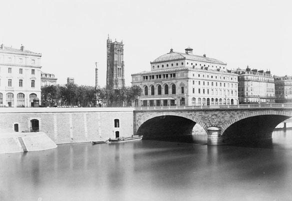 Le Pont en 1854