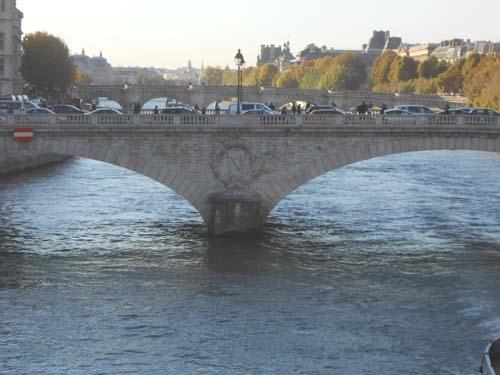 Vue du Pont au Change