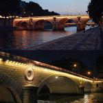 Le pont Marie et le pont Louis-Philippe