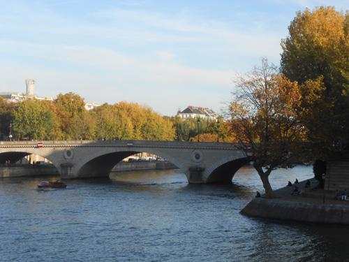 Vue du pont Louis-Philippe depuis l'Île de la Cité