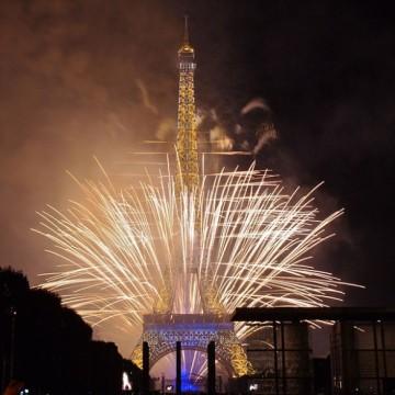 Le feu d'artifice du 14 juillet 2014