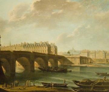 Le Pont Neuf et la Samaritaine par Raguenet