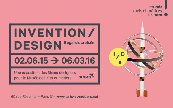 Exposition inédite du CNAM par Sismo sur le design contemporain et les inventions