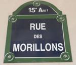 Adresse mythique à Paris, rue des Morillons
