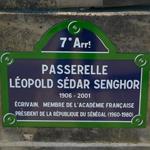 La passerelle Senghor, anciennement Solférino