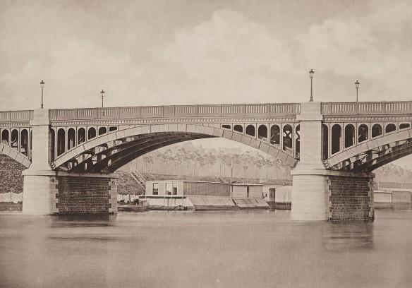 Le pont en 1883