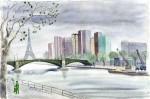Le Pont Mirabeau, le bien connu