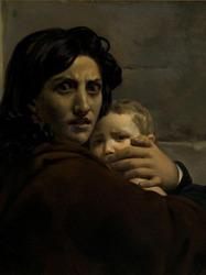 """Léon Cogniet (1794-1880), """"Le massacre des Innocents"""" vers 1824, Orléans, musée des Beaux-arts"""