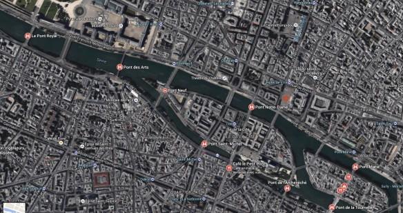 Vue de Google Earth