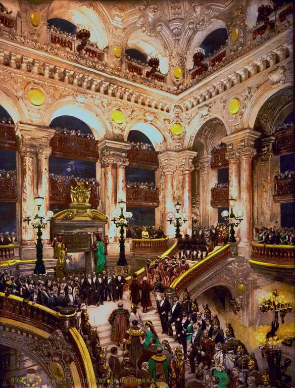 inauguration opéra